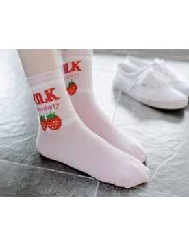 Strawberry Milk Socken
