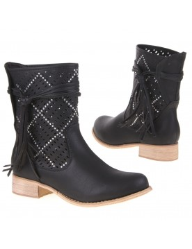 Cut-Out Stiefelette