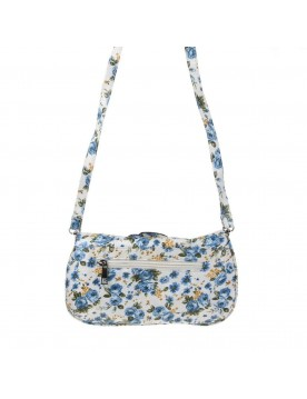 Crossover Bag, Blumenmuster