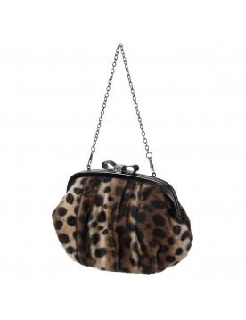 Crossover Bag im Leo-Print