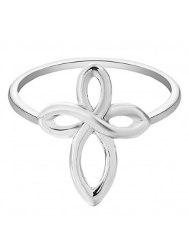 Infinity Cross Ring